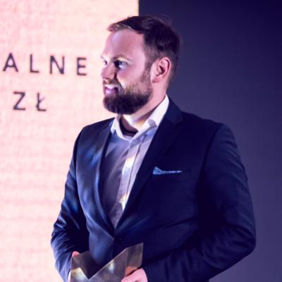 MICHAŁ GRONIEWSKI // FAKTORIA WIN // PREZES // LAUREAT KONKURSU