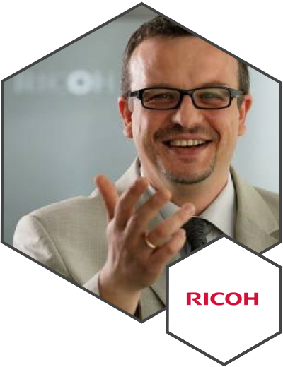 PAWEŁ BARSKI // DYREKTOR MARKETINGU // RICOH