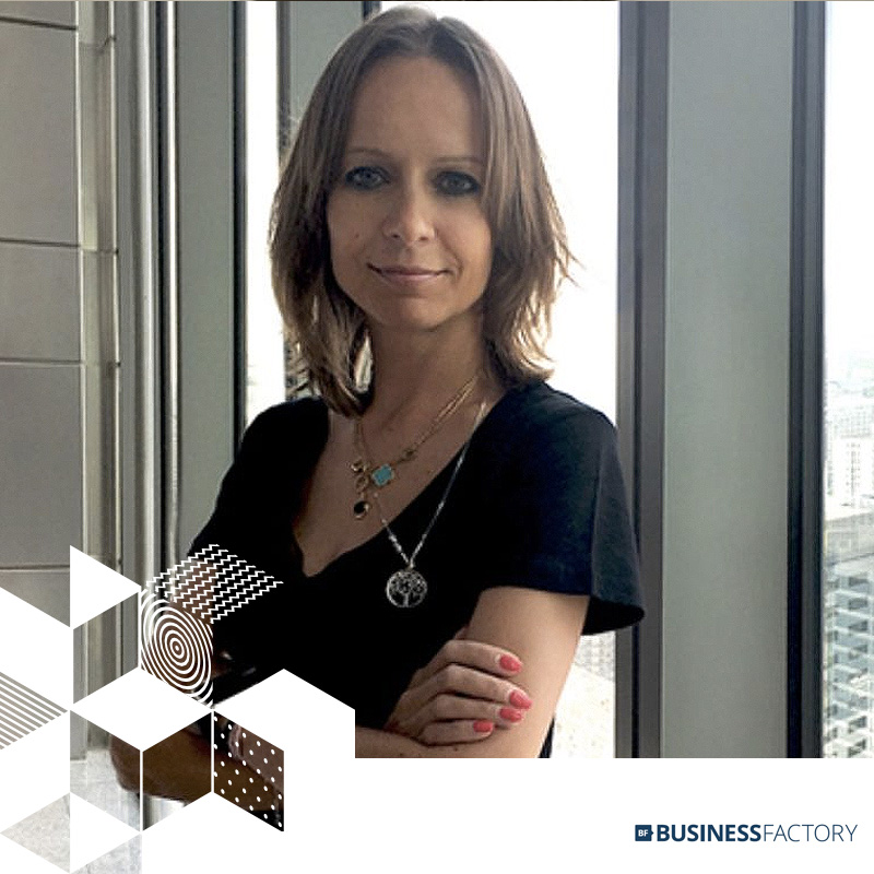 AGNIESZKA CHABRZYK // COUNTRY DIRECTOR // BUSINESS FACTORY