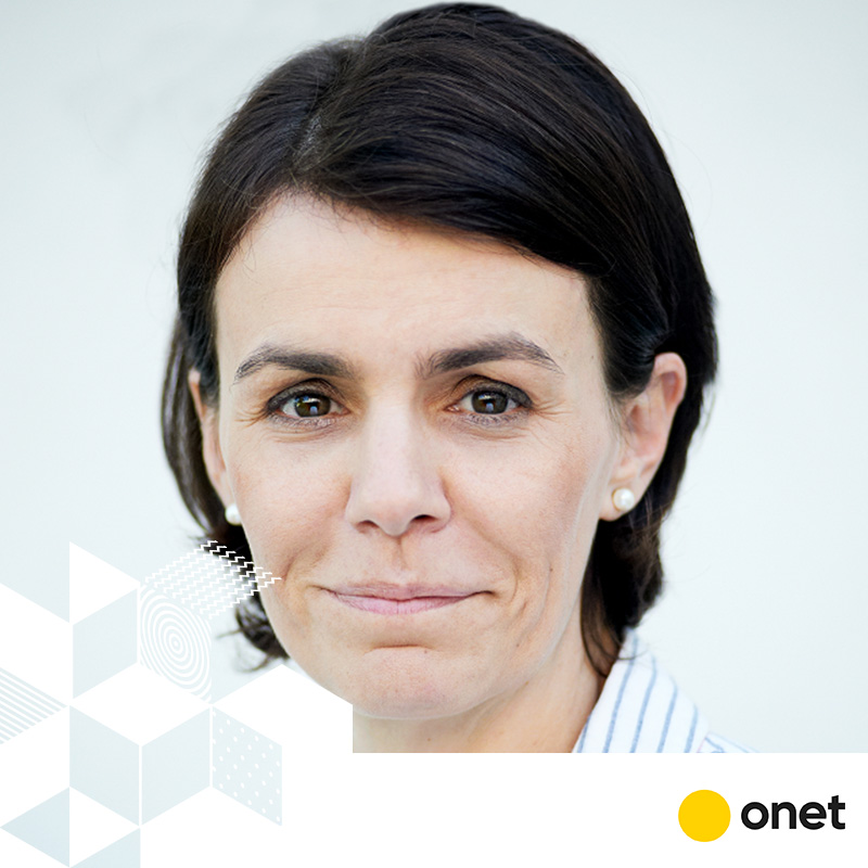 OLGA KOROLEC // DYREKTOR MARKETINGU // ONET